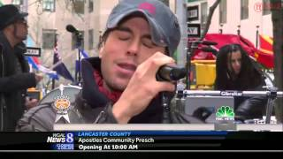 Enrique Iglesias - Bailando LIVE on the Today Show!