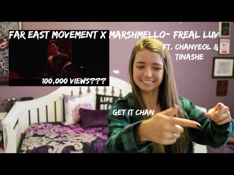 Far East Movement X Marshmello- Freal Luv Ft. Chanyeol & Tinashe