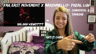 Far East Movement x Marshmello- Freal Luv ft. Chanyeol & Tinashe
