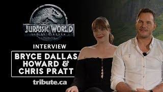 Bryce Dallas Howard & Chris Pratt - Jurassic World: Fallen Kingdom Interview