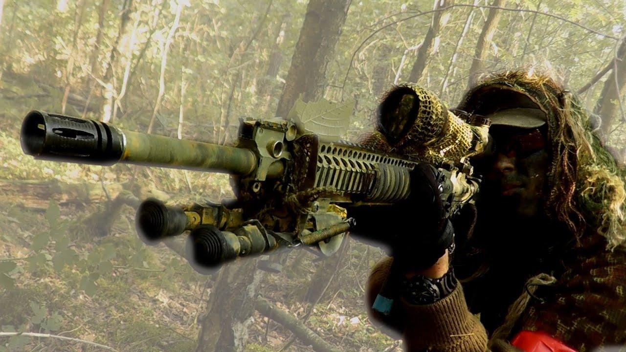 camper, rifle, sniper, war - image #504365 on Favim.com
