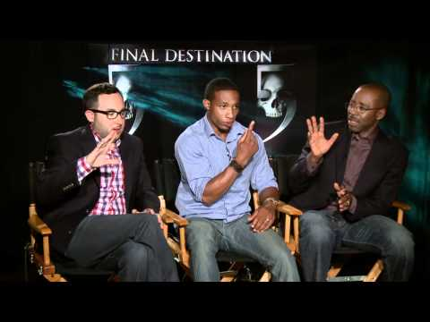 P.J. Byrne, Arlen Escarpeta and Courtney B. Vance