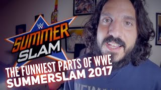 The funniest parts of WWE SumerSlam 2017 - review by Mike Falzone