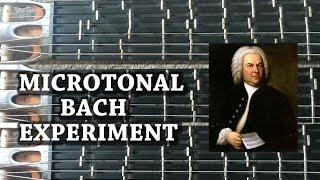 Microtonal Bach Experiment - Which Tuning Sounds Better?