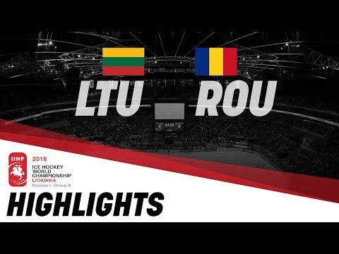 Lithuania - Romania | Highlights | 2018 IIHF World Championships Division I Group B