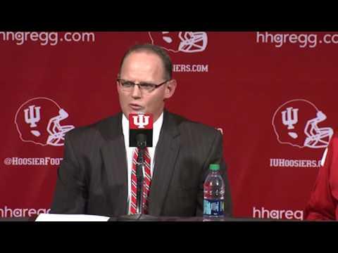 Tom Allen Introduced as Indiana Football Head Coach