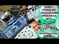 Storage & Organization for Journaling Ephemera , Stickers, Scraps & More