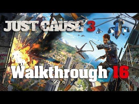 Just Cause 3 PC 100% Walkthrough 16 Mission 15 (Abandon Ship)