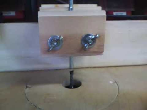 Make a pin router table copier jig youtube make a pin router table copier jig greentooth Image collections