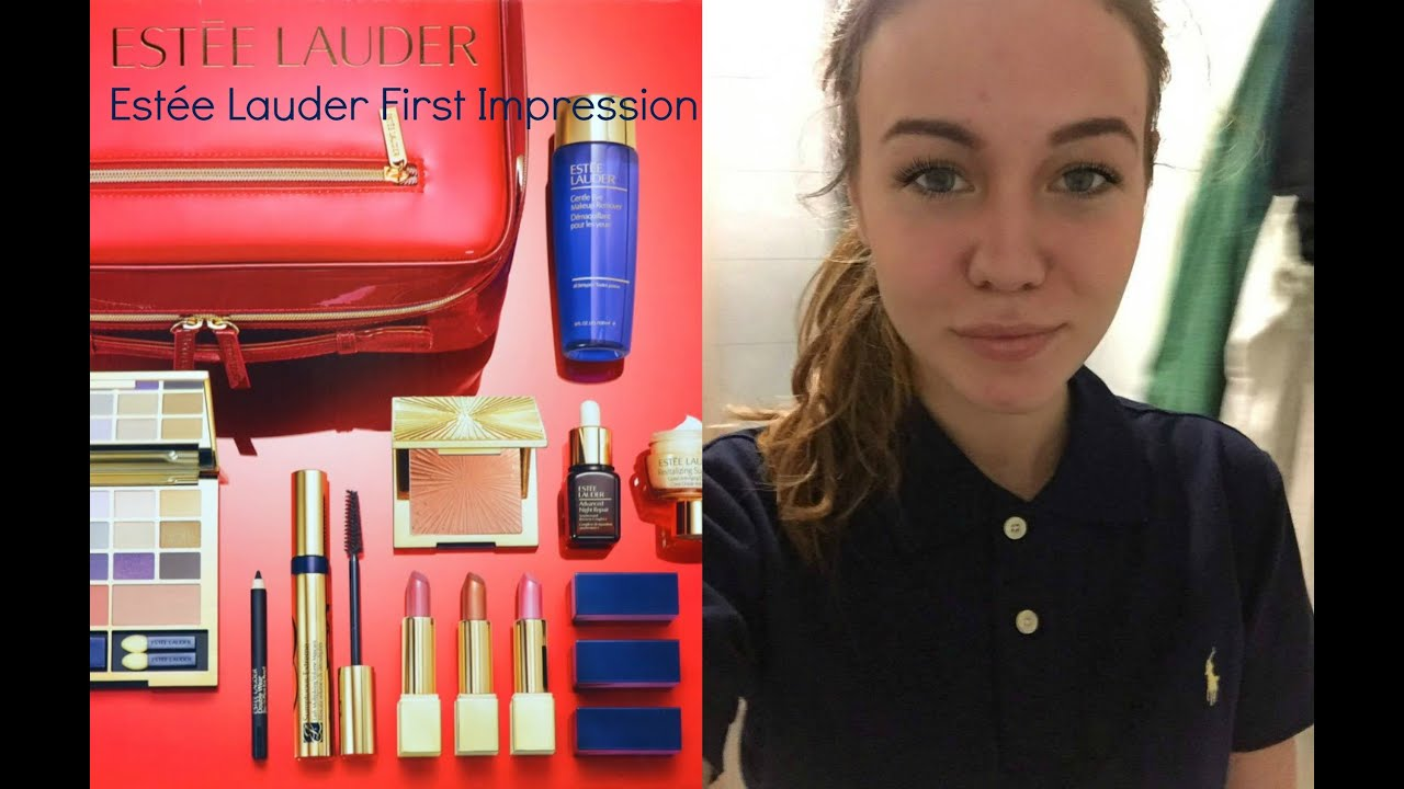 este lauder limited gift box 2015 first impression 2016 scandinavian beauty youtube