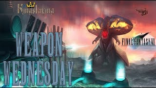 Weapon Wednesday Kingslaying - Final Fantasy VII (I Am the Weapon Now!!!)