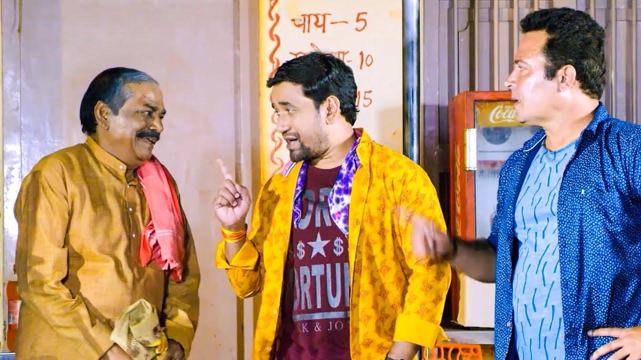 Full Comedy Scene Of Dinesh Lal Yadav, | Funny Clip of 2021
