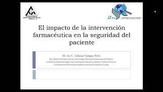 El impacto de la invervención farmacéutica en la seguridad del paciente
