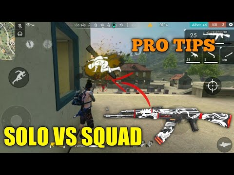 FREE FIRE | RANK PRO TIPS AND 22 KILL FREE FIRE