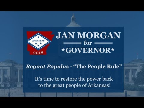 Jan Morgan launches campaign for Arkansas Governor