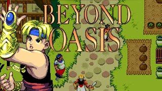 1995 Beyond Oasis (Sega Genesis) Game Playthrough Video Game