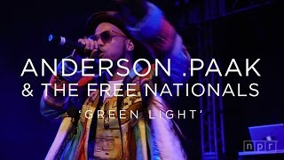 anderson paak the free nationals green light sxsw 2016 npr music front row
