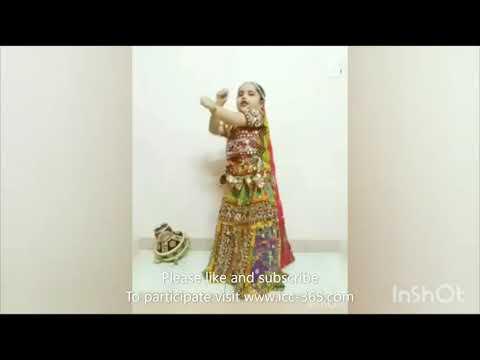 dandiya performance by 5 years child