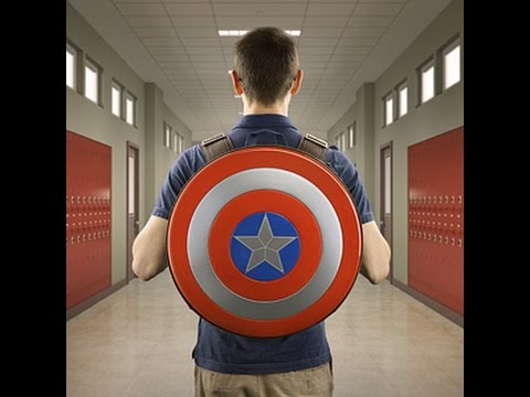 eda3186b67 Captain America Shield Backpack Review - YouTube