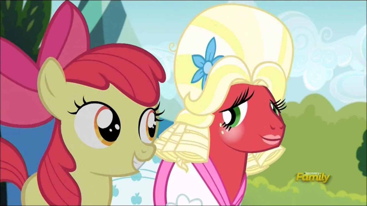 big macintosh and apple bloom singing sisterhood song - youtube