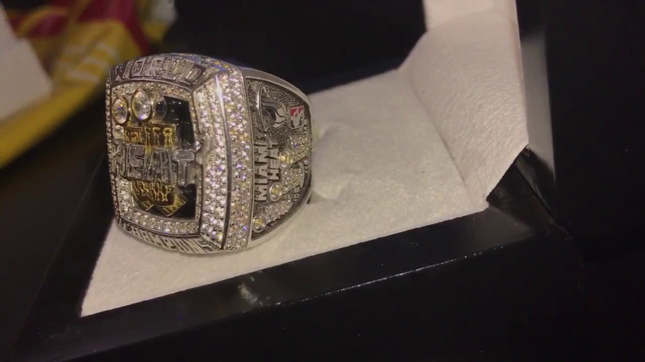2013 Miami Heat Nba Championship Ring Review Youtube