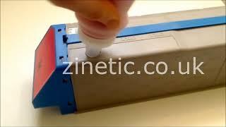 OKI PRO 9542 | PRO 9542EC | PRO 9542EV refill instructions