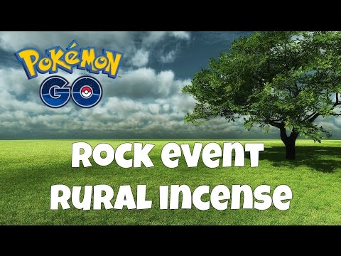 Pokemon GO | Rock Event Rural Incense | Hoping For Some Larvitar