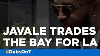 Ex-Warrior JaVale McGee talks leaving the Bay, LeBron on ESPYS red carpet