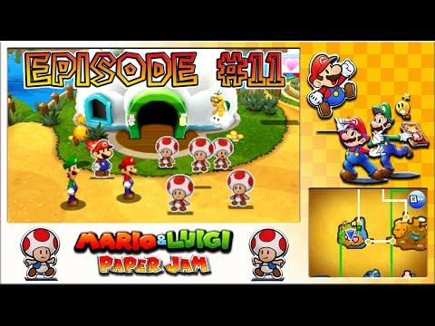 Mario & Luigi: Paper Jam - Time Limit Toads, Fly Guy Abduction - Episode 11