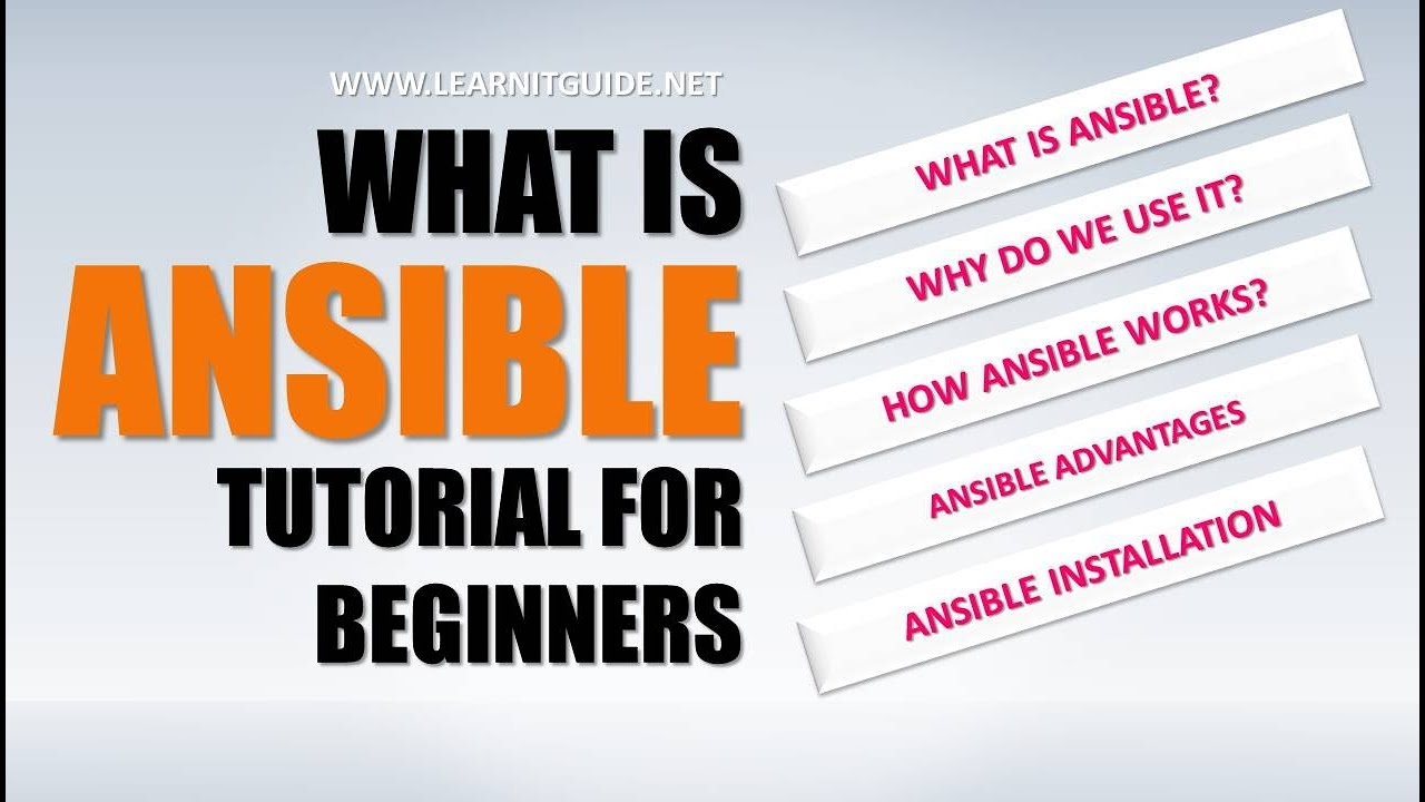 Ansible Tutorial Part 1 - What Is Ansible, Why Do We Use Ansible, Ansible -3439