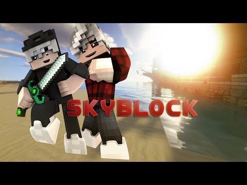 Fabian will Franziska nackt Pixeln!!!|Minecraft Skyblock Letzte Folge!!!!