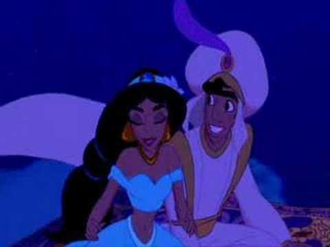 Aladdin and Yasmin - A whole new World (German)