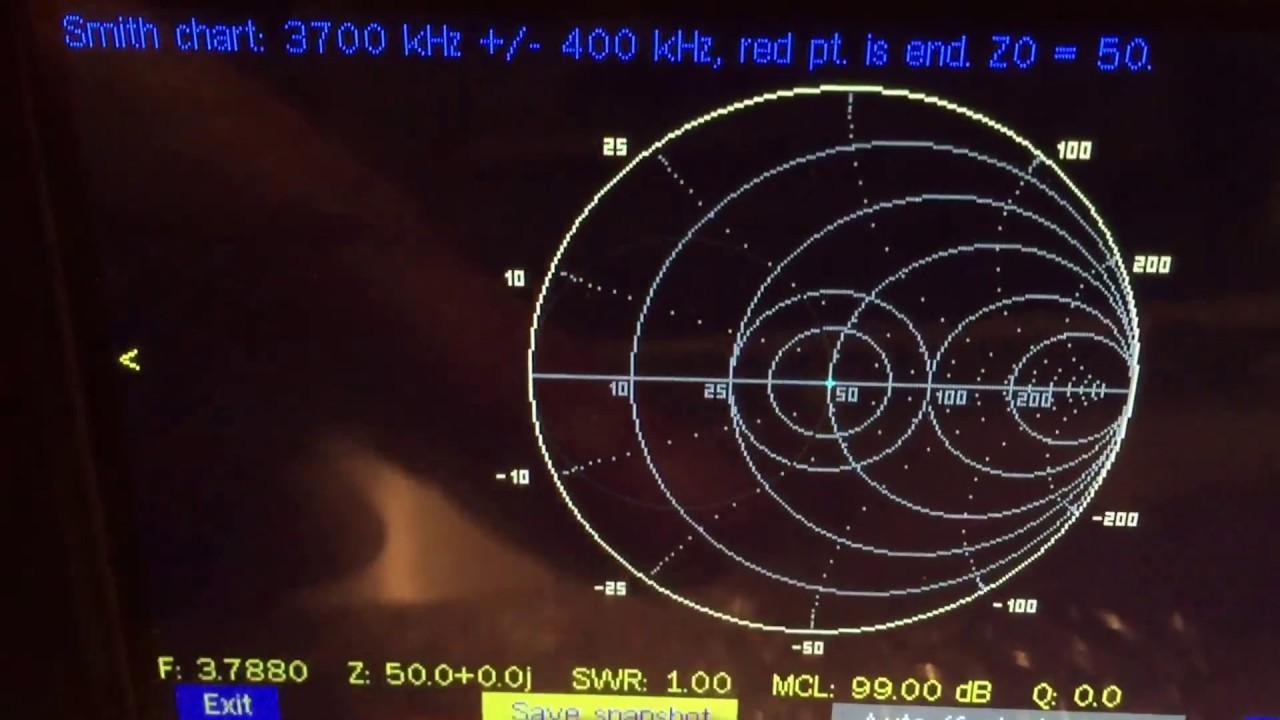 1- port VNA analyser 0 5-450Mhz