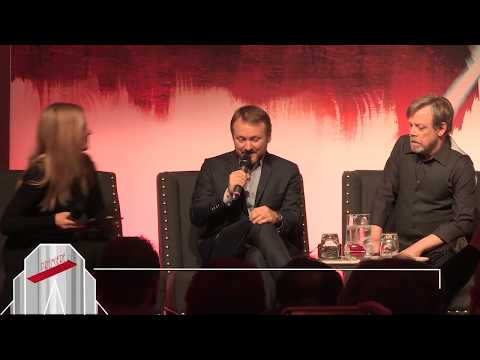 Ryan Johnson  Star Wars: The Last Jedi European Press Conference