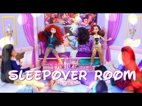 DIY - How To Make: Disney Princess Slumber Party Room Inspired By Wreck It Ralph 2