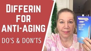 Using Differin to Treat Wrinkles, Anti-aging | Application Tutorial