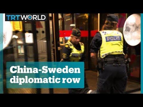 China-Sweden diplomatic row escalates Mp3