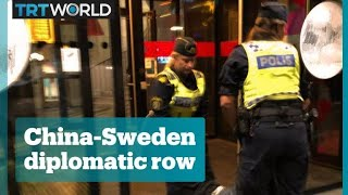 China-Sweden diplomatic row escalates