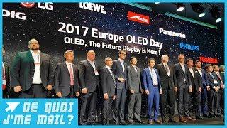 OLED TV : les prix vont-ils baisser en 2018 ? DQJMM (2/2)