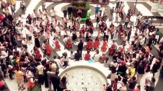 The very first time for flash mob concert by kids 世上第一場孩童音樂快閃