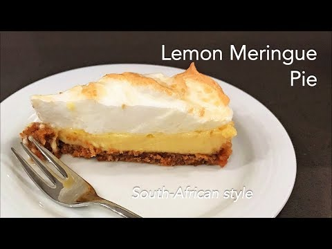 How To Make South-African Style Lemon Meringue Pie