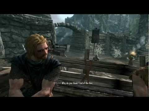 "Freelance Plays Skyrim Part 1 ""Me and Mah Guy"""
