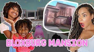 Naiah Recreates FAMOUS Roblox MANSION in BLOXBURG - Family Fun Gaming