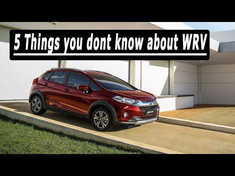 2017 Honda WRV - 5 Things You Dont Know About It