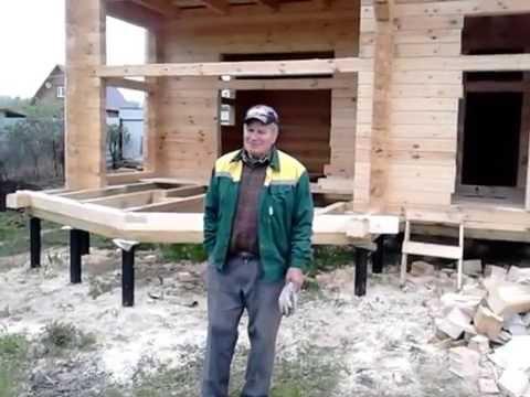 Брусовой дом с баней 10×8 м в СНТ «Кремёнки» Жуковского района Калужской области