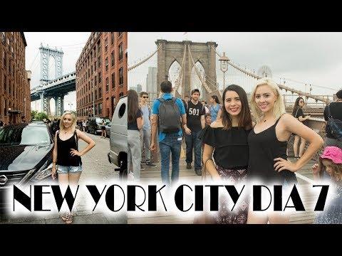 NEW YORK DIA 7 | BROOKLYN BRIDGE | DUMBO | CONEY ISLAND | FLEA MARKET | CATCAFE | ARELI DURAZO