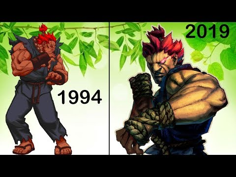 Evolution Of AKUMA (Street Fighter/Tekken)  1994 To 2019