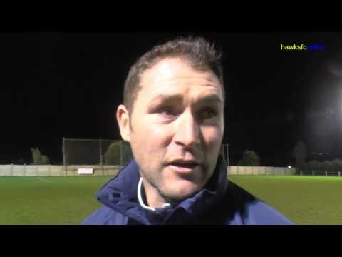Horndean v Havant & Waterlooville  Portsmouth Cup goal & reaction  Dec 2014