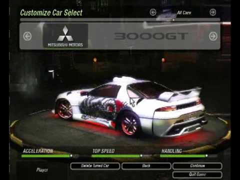 Pimped Out Cars Wallpapers Need For Speed Underground 2 Tuning Mitsubishi 3000gt
