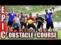 EPIC OBSTACLE COURSE IN GIANT SPORTS COM